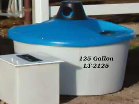 PolyDome 125 Gallon Lick Tank