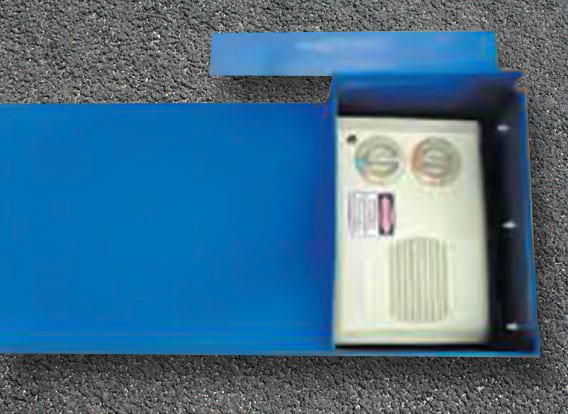 Calf Warmer Complete Heater Box Polydome