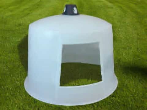 Poly Mini Dome Shell & Vent Only